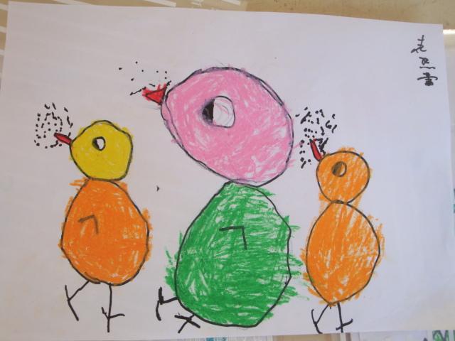 幼儿园中班画画要学的线条、形状