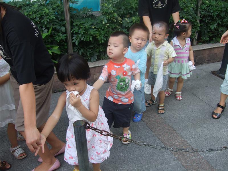 幼儿园消防演习活动-深圳市侨城豪苑幼儿园