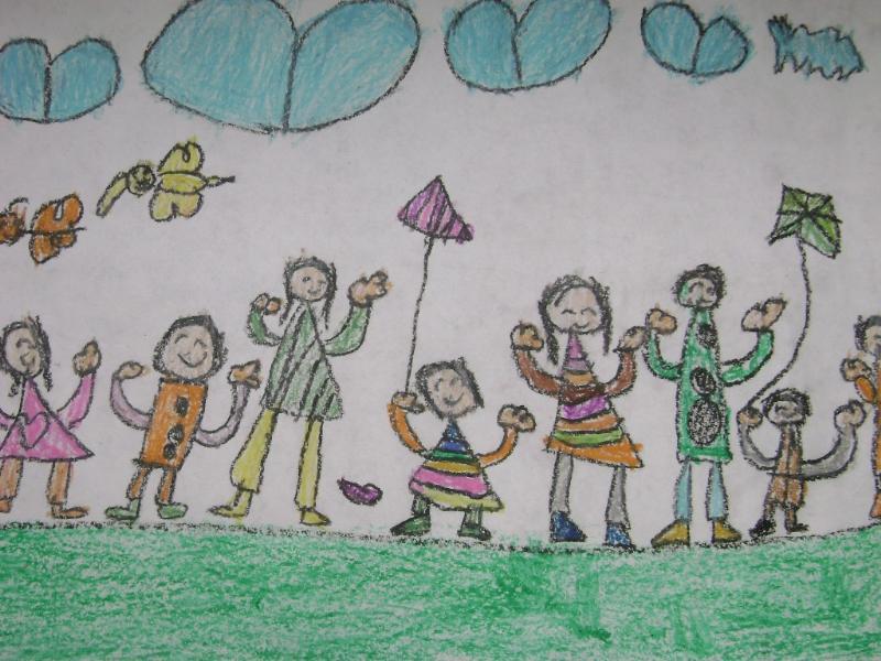 幼儿园生活剪影-海珠区英语中心中英文幼儿园