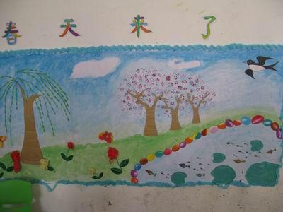 麻城市幼儿园:用春天装扮孩子的乐园